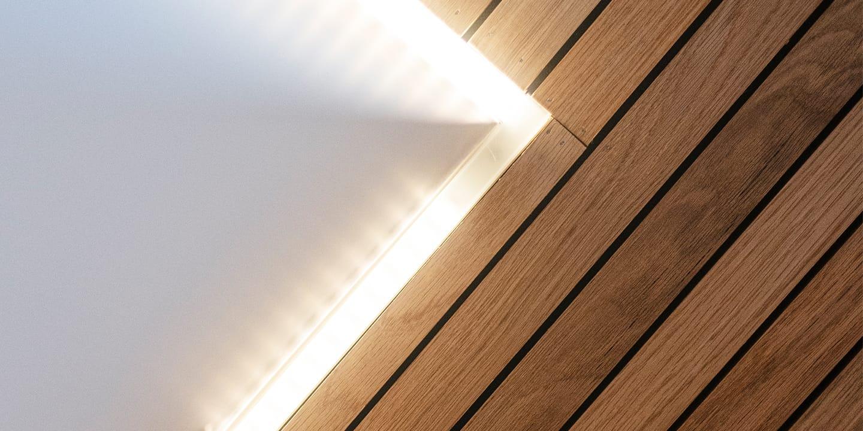 Interior ceiling details