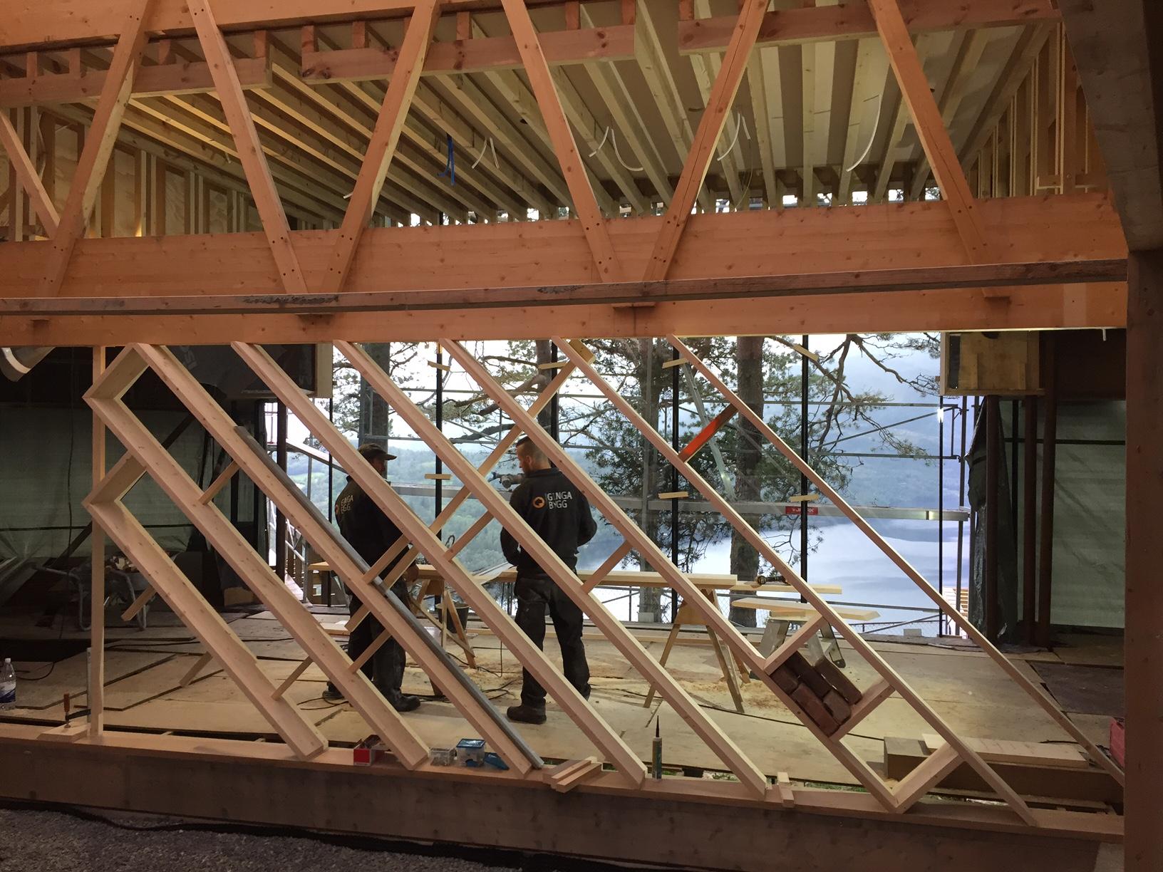Cliffhouse - interior, in progress