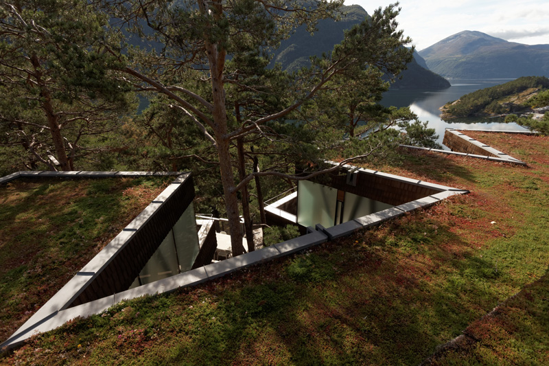 Summer house exterior roof