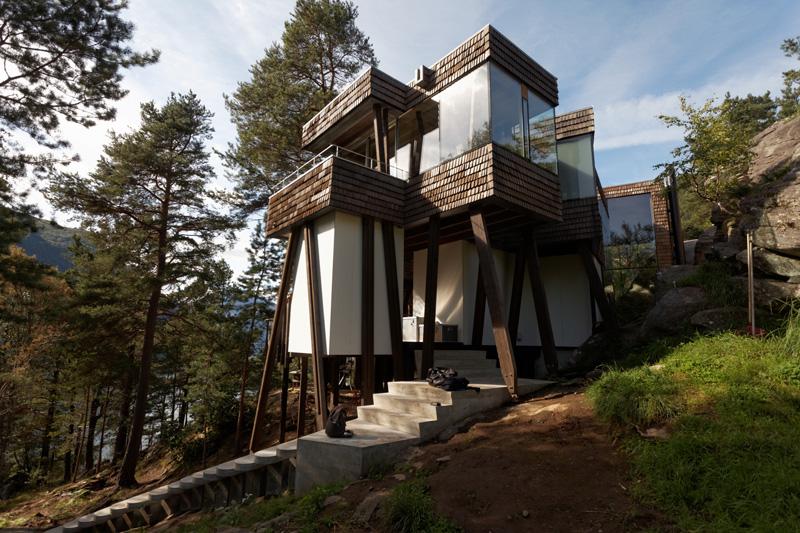 Summer house exterior